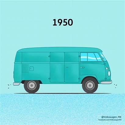 Vw Van Volkswagen Evolution Camper Transporter Gifs