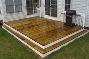 how to repair stairs featured deck how to building a deck on the ground deck on the ground