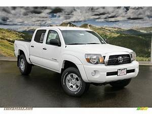 2011 Toyota Tacoma V6 Trd Double Cab 4x4 In Super White