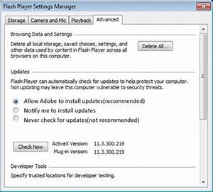 Neueste Version Adobe Flash Player : suchen sie nach flash player software updates automatisch ~ A.2002-acura-tl-radio.info Haus und Dekorationen