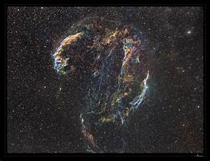 Astro Anarchy: Veil Nebula as an anaglyph Red/Cyan 3D