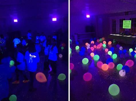 black light glow party glow in the dark birthday party