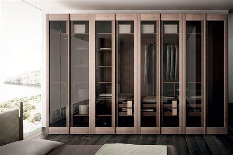 modern wooden glass wardrobe closet doors   laminate
