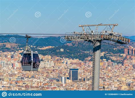 Aerial View Barcelona City, Spain Editorial Stock Image ...