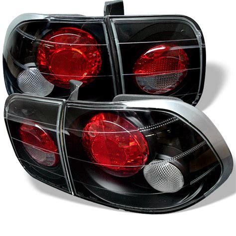 honda civic tail lights for sale honda civic ek 96 98 4dr jdm altezza tail lights black