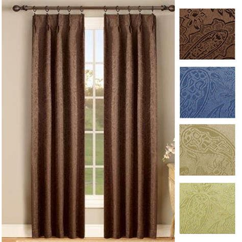 bathroom window blinds gabrielle thermal insulated foam back pinch pleat pair