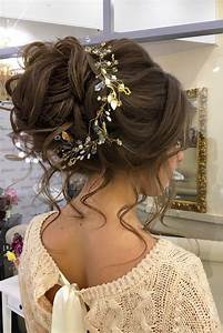 25 Best Ideas About Wedding Bun Hairstyles On Pinterest
