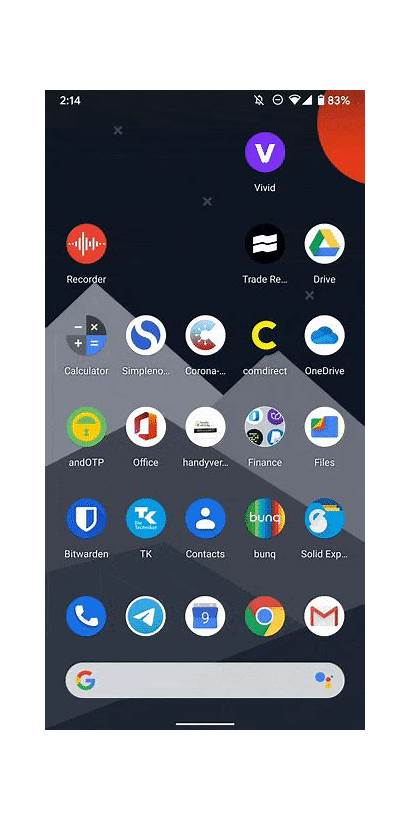 Android Swipe Secondary Launcher App Bigger Drawer