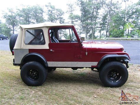amc jeep 1984 amc jeep cj7 304 v8 lockers gears lift more