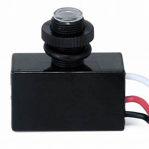 Photoelectric Photocell Dusk To Dawn Button Photo Control