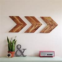 wood wall art 15 Striking Ways to Decorate with Arrows