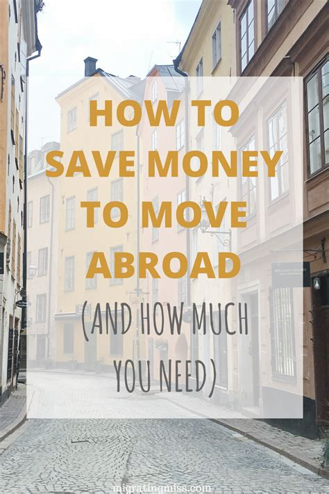 how much do you tip movers how to save money to move abroad and how much you need migrating miss