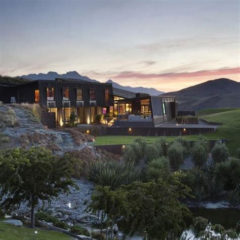 zealand modern mansion  queensland popsugar home