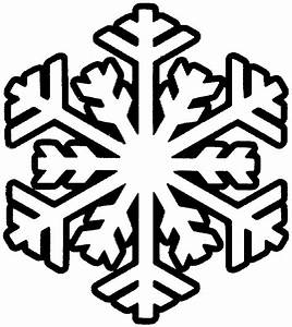 Snowflakes Clipart Black And White - ClipArt Best