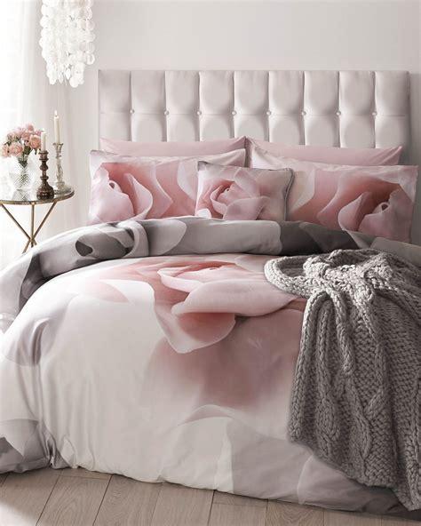 ted baker porcelain rose super king duvet cover pink