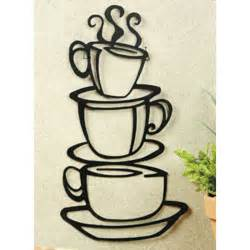 coffee themed kitchen canisters coffee house cup java silhouette wall metal mug kitchen home decor ebay