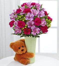 the birthday bouquet by ftd 174 vase included ceramics