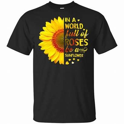 Sunflower Roses Shirts Amazetees Apparel