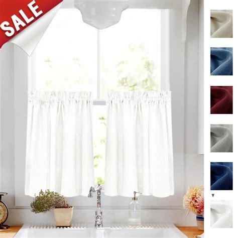 white kitchen curtains amazoncom