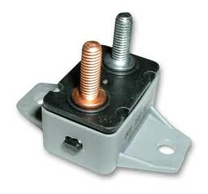 EATON's Bussmann Series 123B30-A2P Shortstop Circuit Breaker, Type III Reset, 30A, 24V