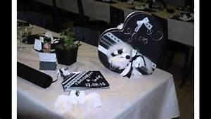 Deco Noir Et Blanc : deco mariage noir et blanc youtube ~ Melissatoandfro.com Idées de Décoration