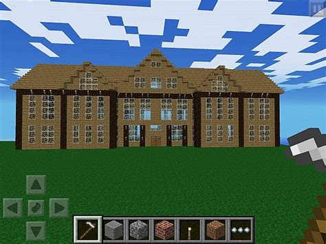 Mcpe Lets Build 6 Massive Mansion Minecraft Project
