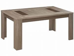 Table De Cuisine Rectangulaire : table rectangulaire 180 cm atlanta coloris ch ne fusain ~ Teatrodelosmanantiales.com Idées de Décoration