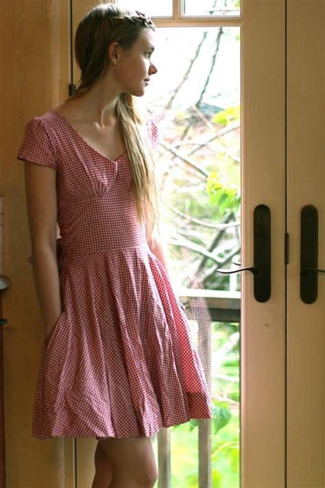 picnic dress tutorial allfreesewingcom