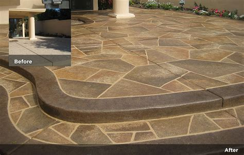 flagstone design tile design patios pool decks 24