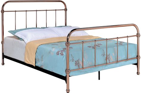 coleman furniture warranty reviews tamia gold metal panel bed from furniture of
