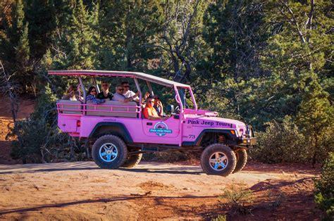 Ramblin Off Road With Pink Jeep Tour Sedona