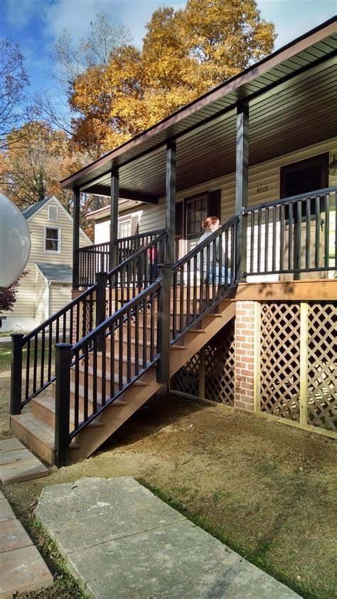 front porch addition chesterfield rva remodeling llc