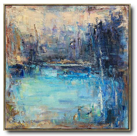 Large Abstract Artabstract Landscape Oil Paintinglarge
