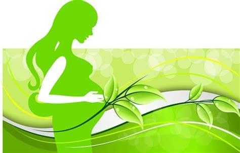 pregnant woman  elegant background