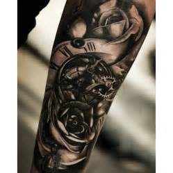 Clock Gears Tattoo