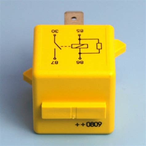 Amp Pin Relay Normally Open Contact With Coil
