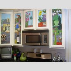 Kitchen Cabinet Mural  Traditional  Kitchen  New