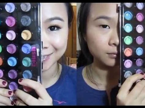 makeup monolid     eyes  bigger  orange eye shadow youtube