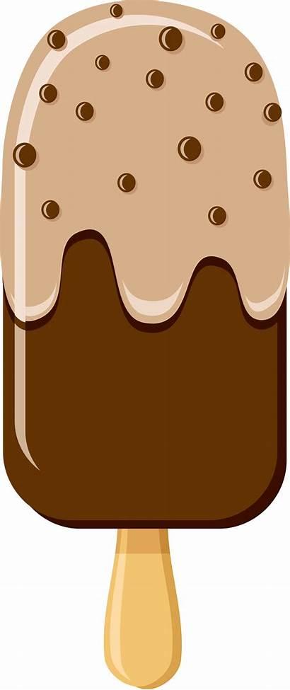 Ice Cream Clip Clipart Popsicle Chocolate Pop