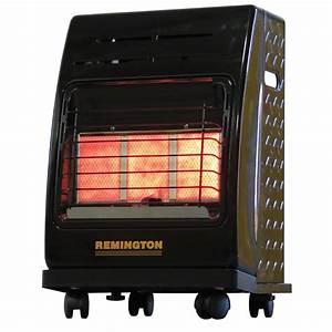 Shop Remington 18,000-BTU Portable Cabinet Propane Heater