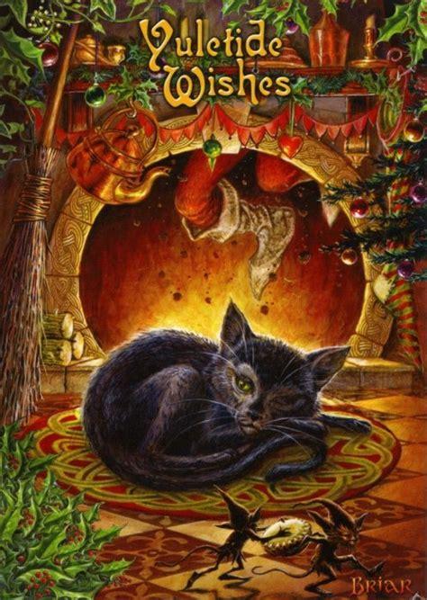 twas  night  yule yulewinter solstice cards