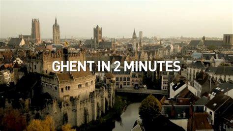 Ghent in 2 minutes, Ghent, Belgium | Dronestagram