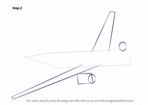 Learn How to Draw Flying Boeing Aeroplane (Airplanes) Step ...