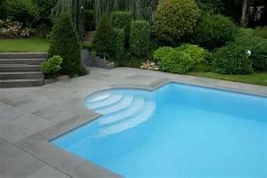 Terrasse Mit Pool : terrasse mit pool natursteingalerie becker ~ Yasmunasinghe.com Haus und Dekorationen