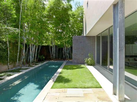 courtyard house modern pool houston  mars mayfield  ragni studio
