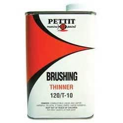 Boat Bottom Paint Purpose by Pettit Paint 120 Brushing Thinner General Purpose West