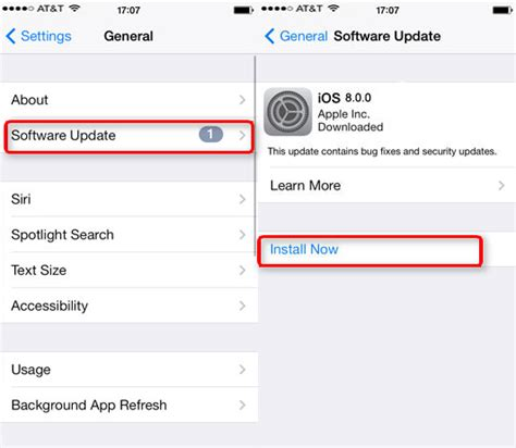 how do you update your iphone how to install ios 8 on iphone ipod touch imobie guide