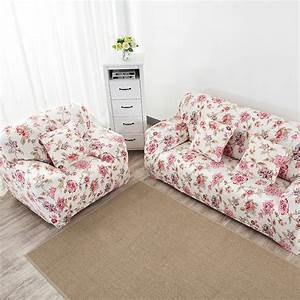 Elastic couch cover printed sofa cover cushion covers for for 6 cushion sofa covers