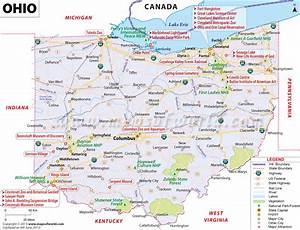 Buy Reference Map of Ohio