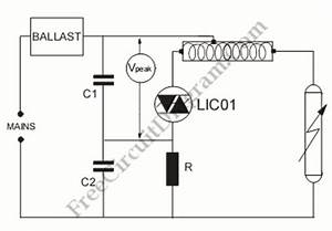 light ignition circuit circuit diagram world With lamp pulser circuit